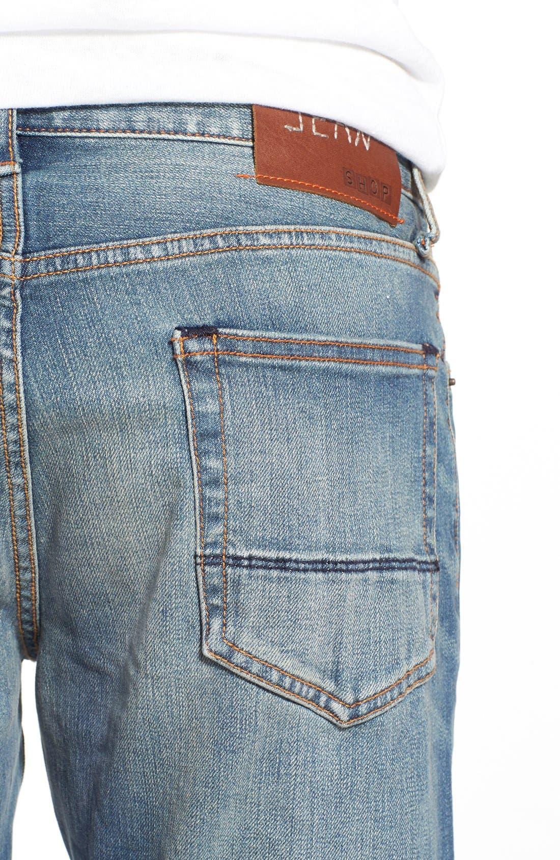 ,                             'Jim' Skinny Fit Selvedge Jeans,                             Alternate thumbnail 2, color,                             421