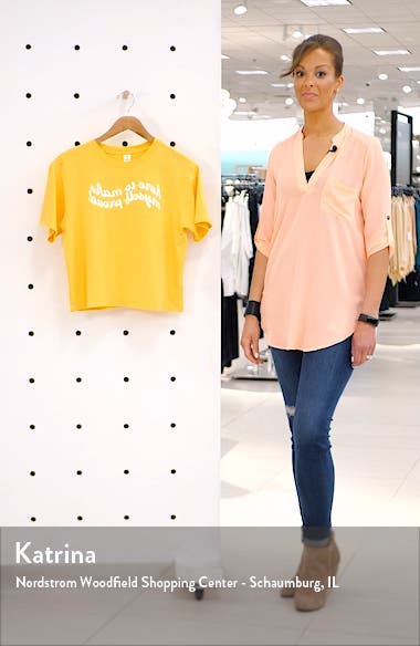 x Claudia Sulewski Relaxed Graphic Tee, sales video thumbnail