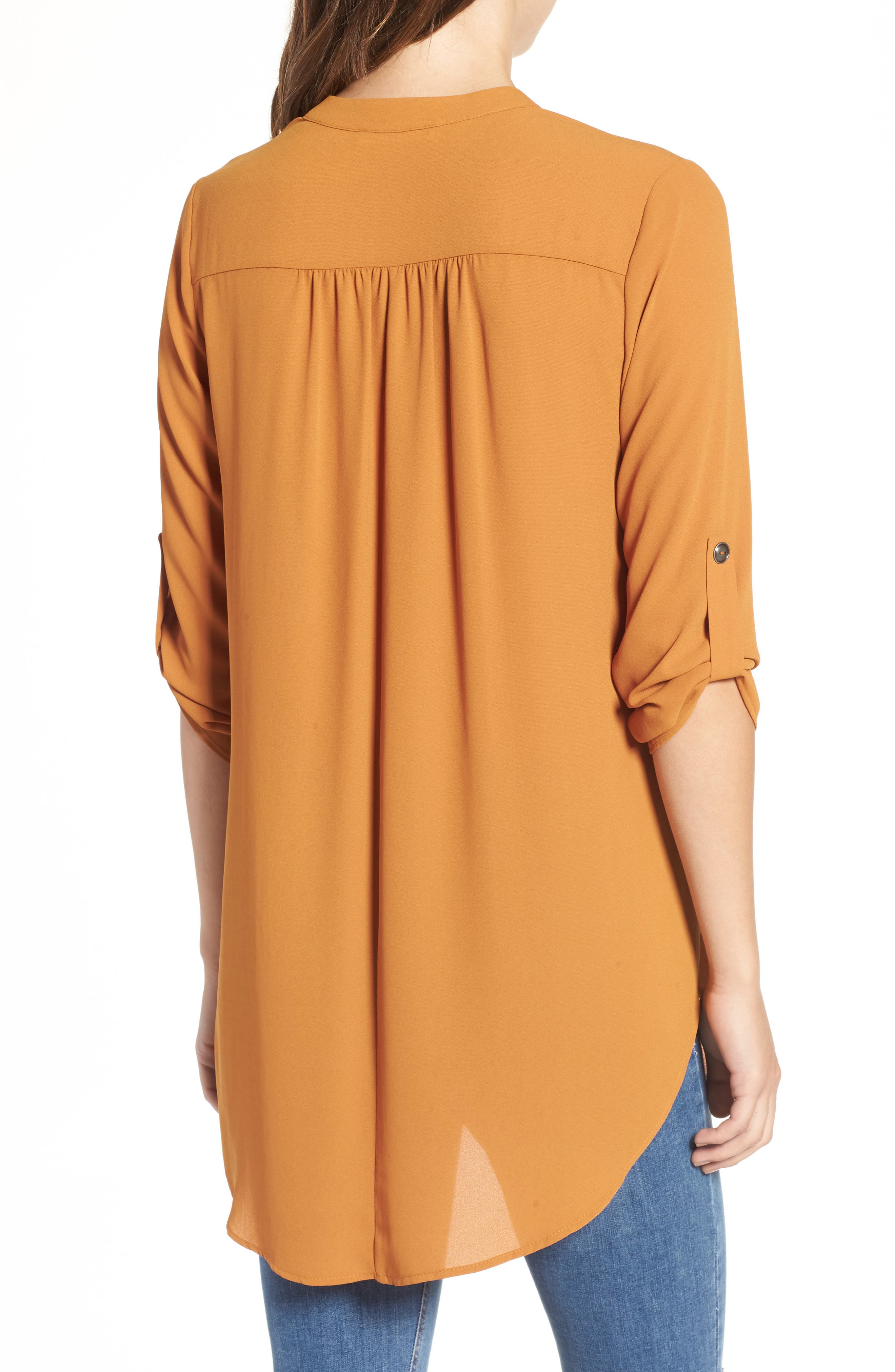 ,                             Perfect Roll Tab Sleeve Tunic,                             Alternate thumbnail 47, color,                             245