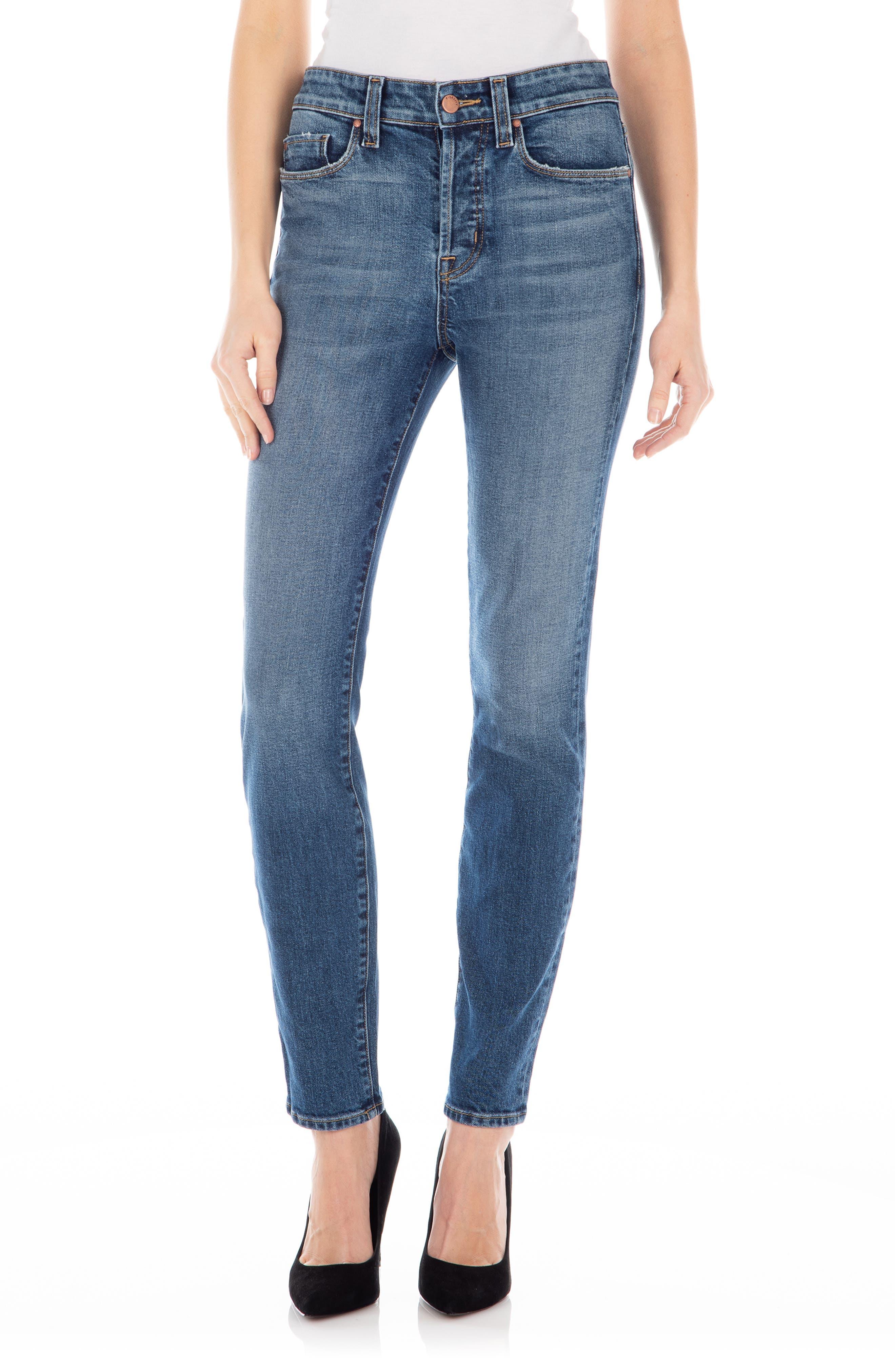 Image of FIDELITY DENIM Pixie Skinny Jeans