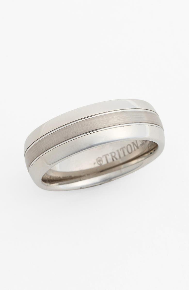 TRITON Notched Tungsten Carbide Band, Main, color, 040