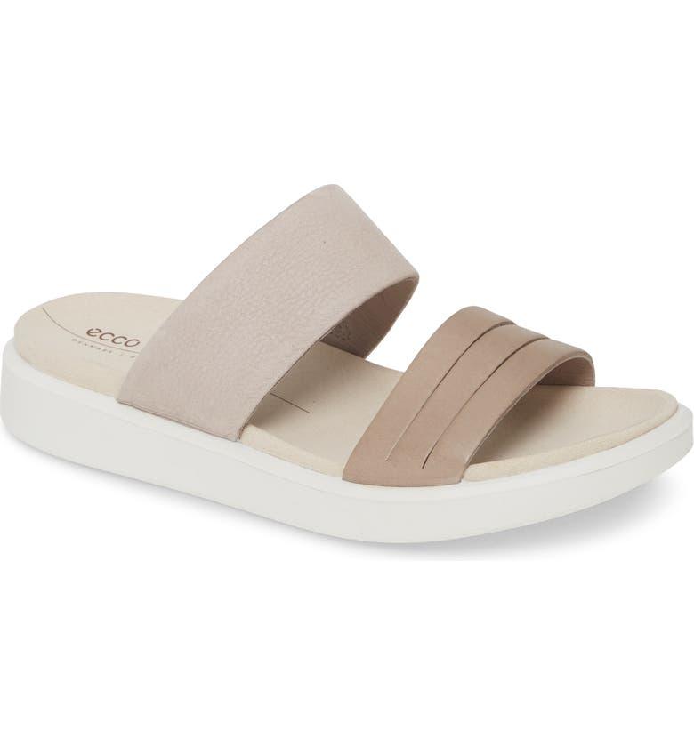ECCO Flowt Slide Sandal, Main, color, 070