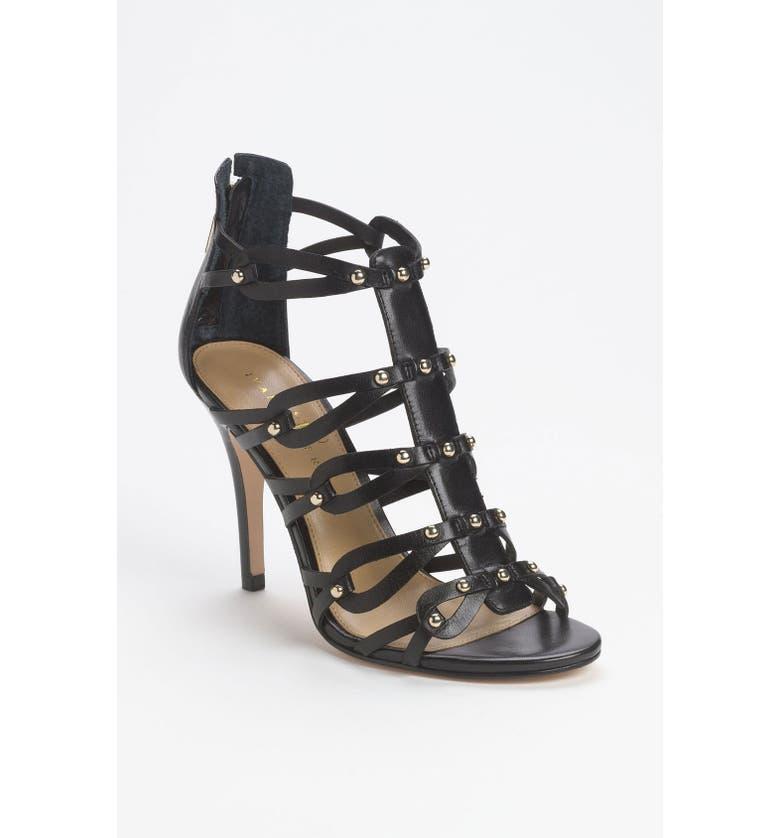 IVANKA TRUMP 'Mallorie' Sandal, Main, color, 001