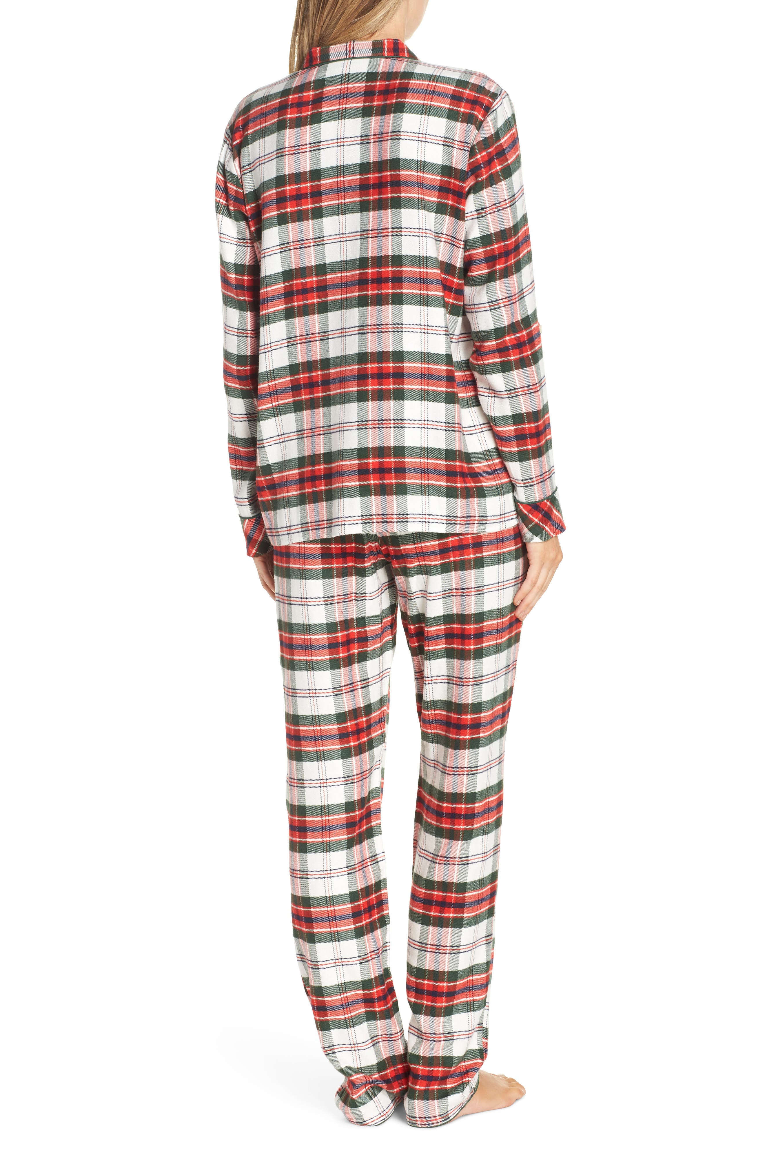 ,                             Lingerie Starlight Flannel Pajamas,                             Alternate thumbnail 26, color,                             900