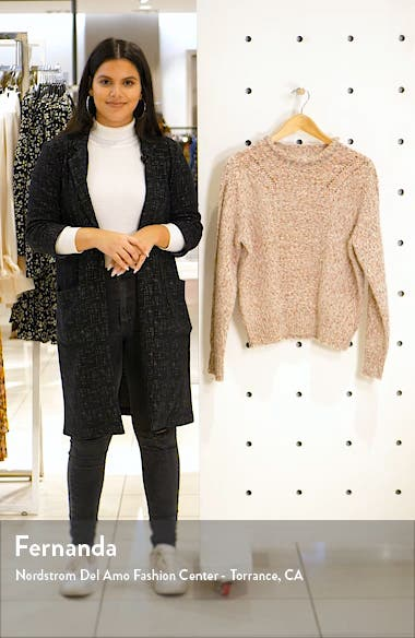 Pointelle Sweater, sales video thumbnail