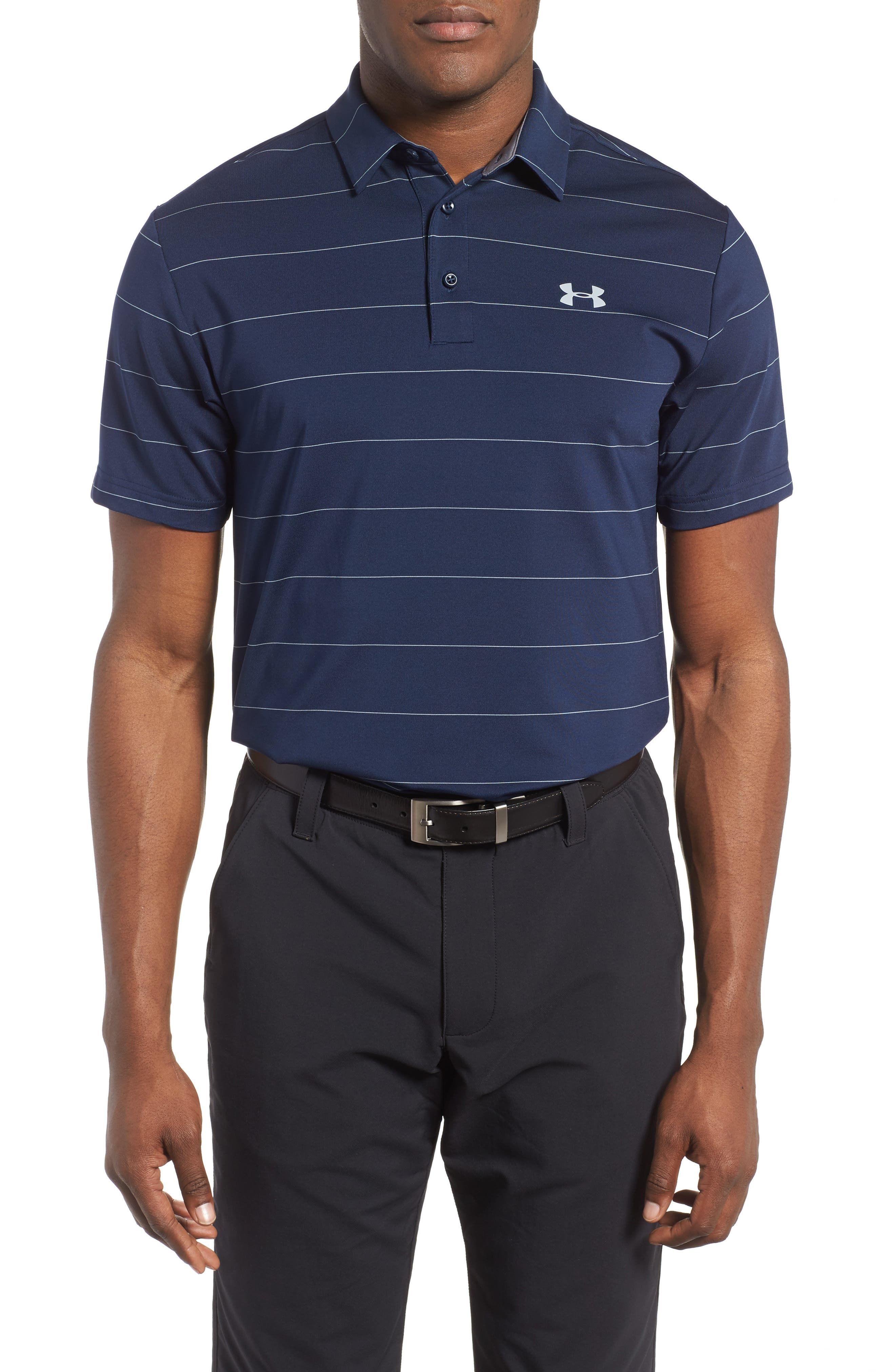 ,                             'Playoff' Loose Fit Short Sleeve Polo,                             Main thumbnail 245, color,                             422