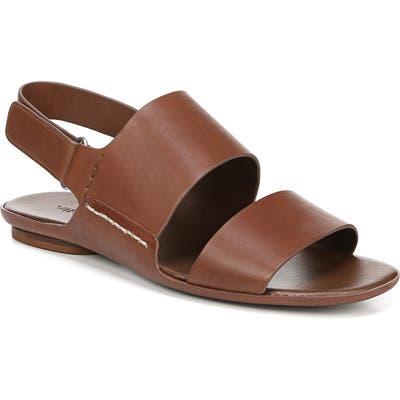 Vince Telsa Flat Sandal, Brown
