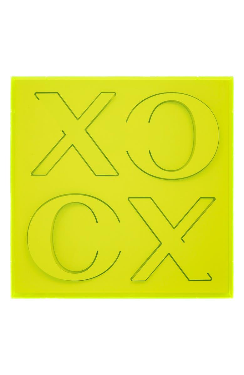 4ART WORKS XOXO Wall Art, Main, color, GREEN