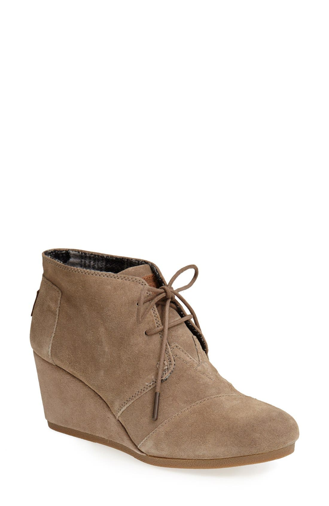 ,                             'Desert' Wedge Bootie,                             Main thumbnail 11, color,                             251