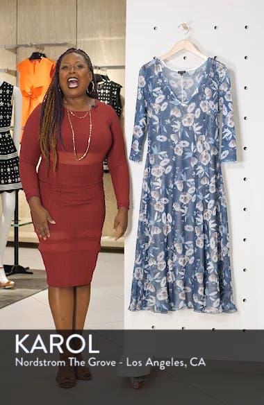 Charmeuse & Chiffon A-Line Dress, sales video thumbnail