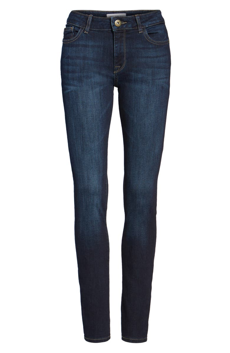 DL1961 Florence Instasculpt Skinny Jeans, Main, color, PULSE