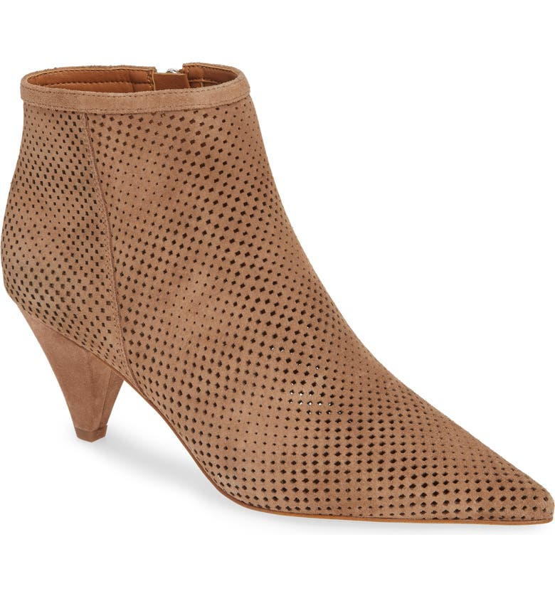 SARTO By Franco Sarto Bobbi Perforated Pointy Toe Bootie Women