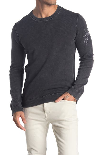 Image of Zadig & Voltaire Kennedy Smooth Eye Crew Neck Sweater