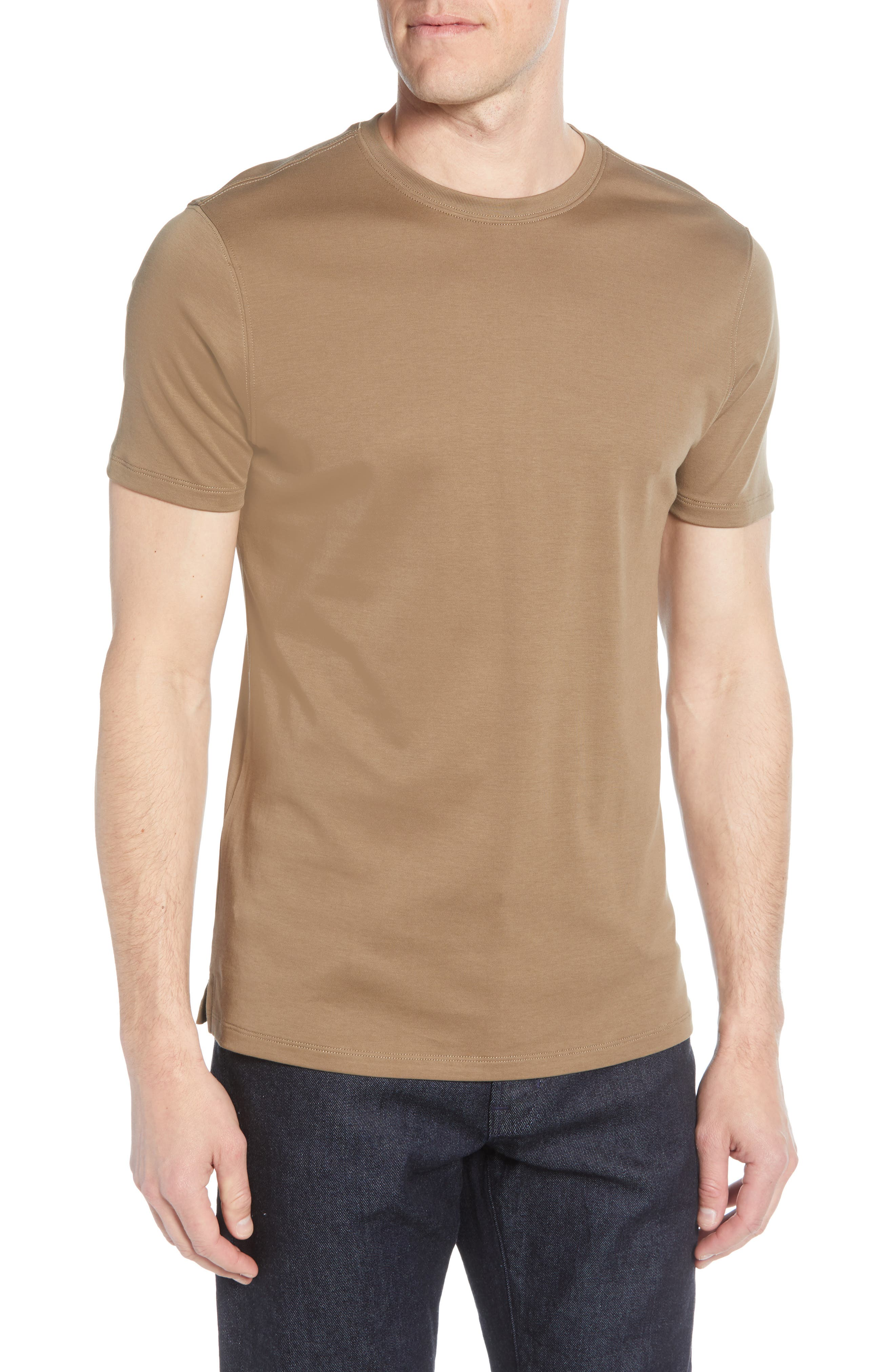 Georgia Crewneck T-Shirt, Main, color, 242