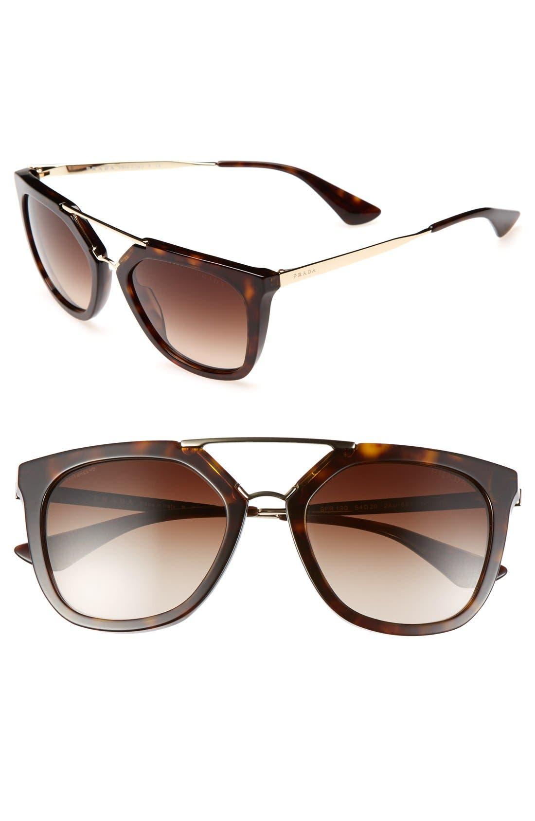 ,                             'Pilot' 54mm Sunglasses,                             Main thumbnail 2, color,                             200
