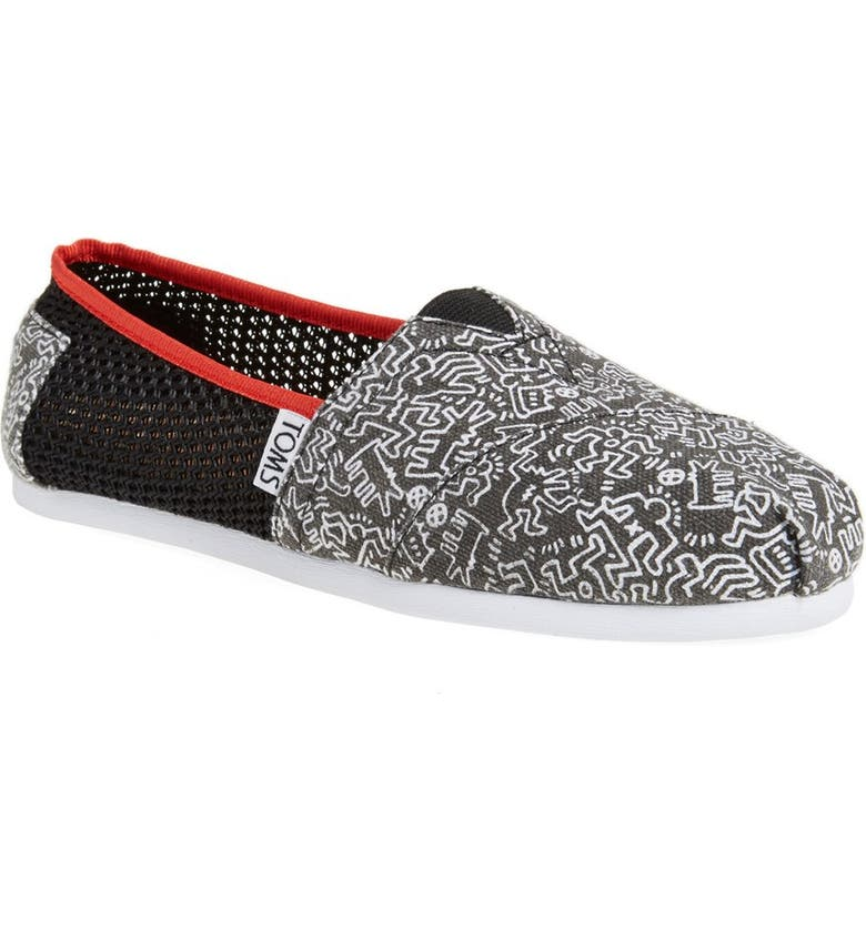 e1671f7a36f7 TOMS 'Classic - Keith Haring' Print Slip-On (Women) | Nordstrom