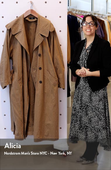 Oversize Military Trench Coat, sales video thumbnail