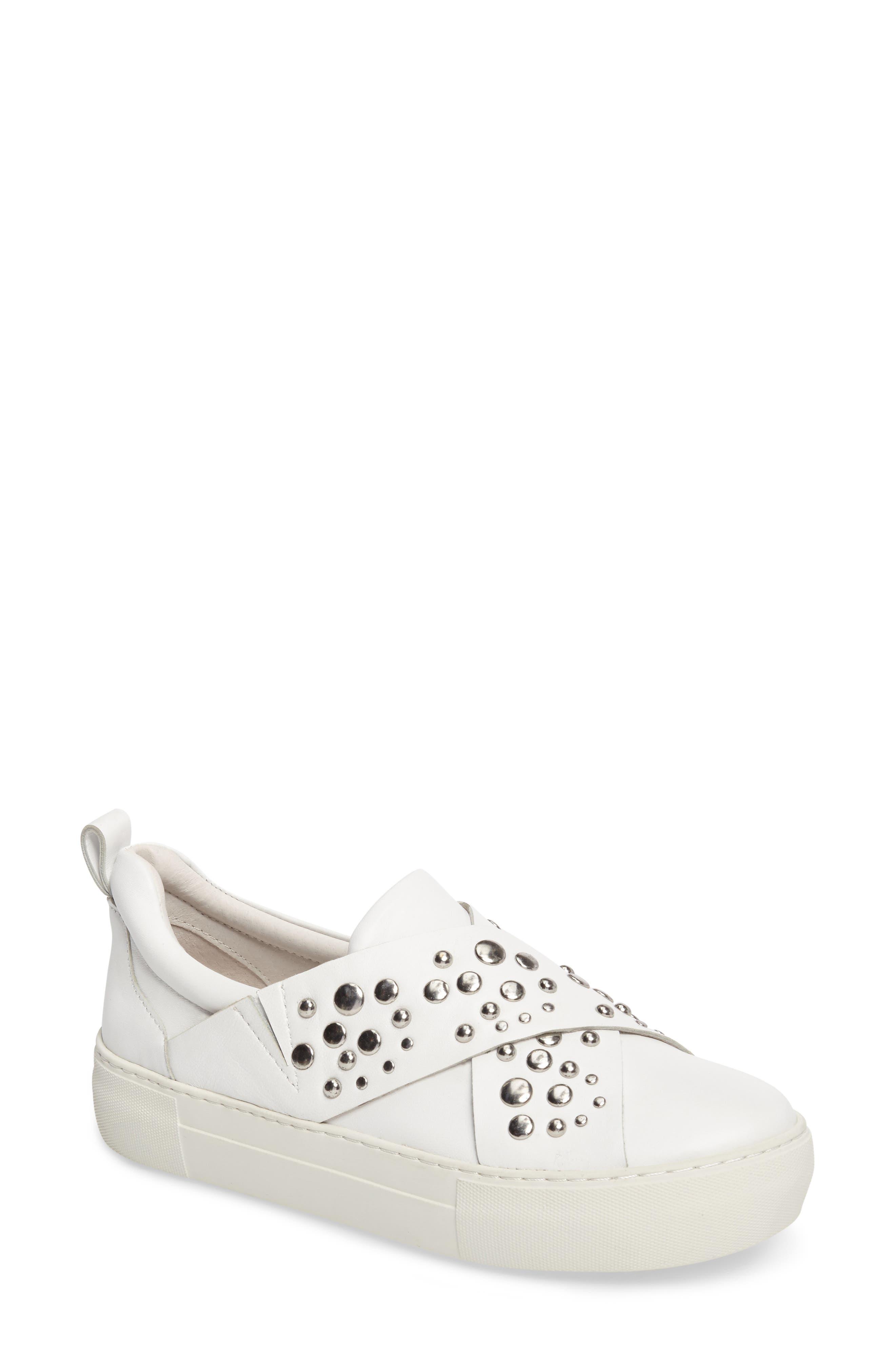 Jslides Anteek Slip-On Sneaker, White