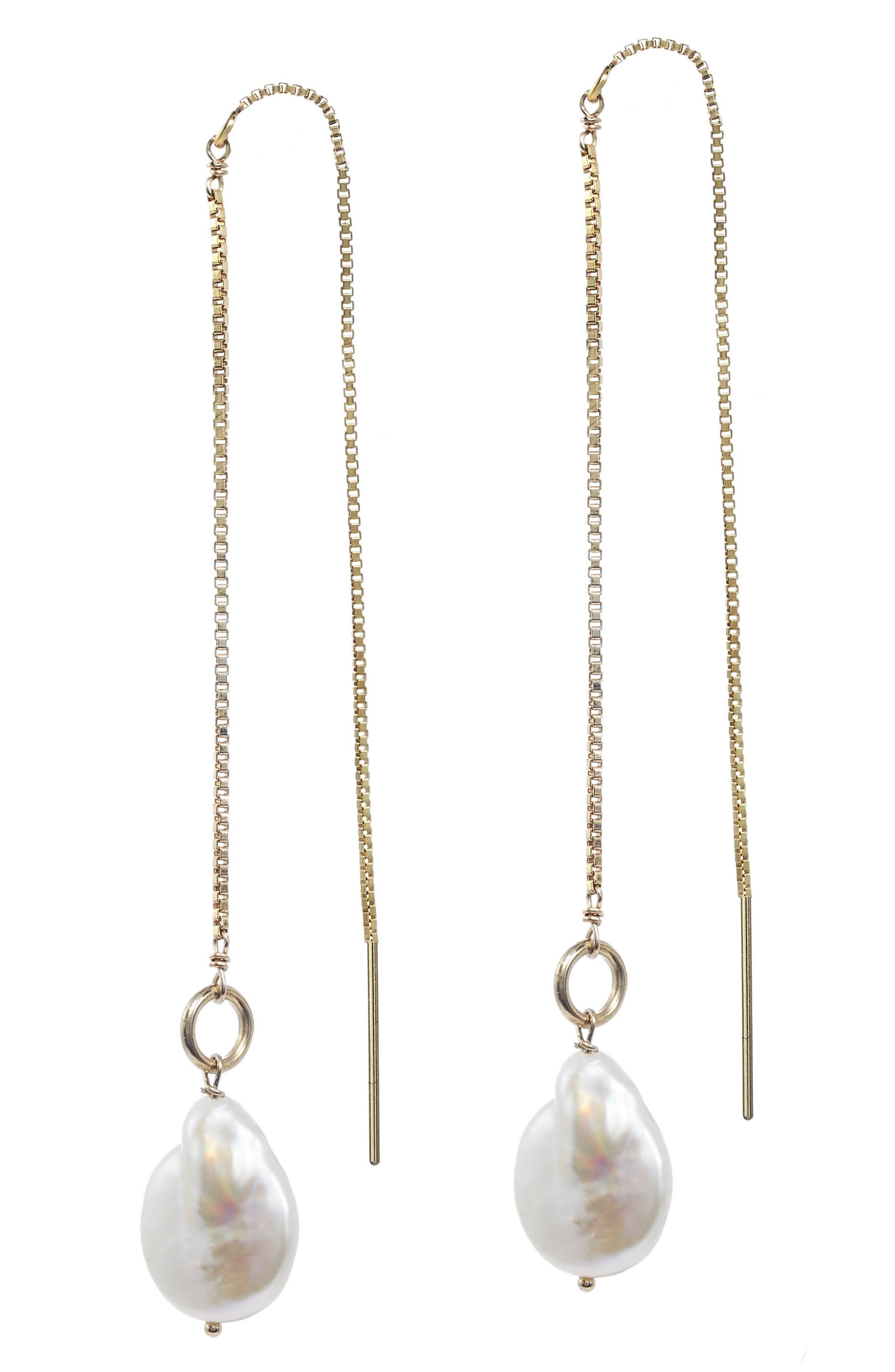 Genesis Threader Earrings