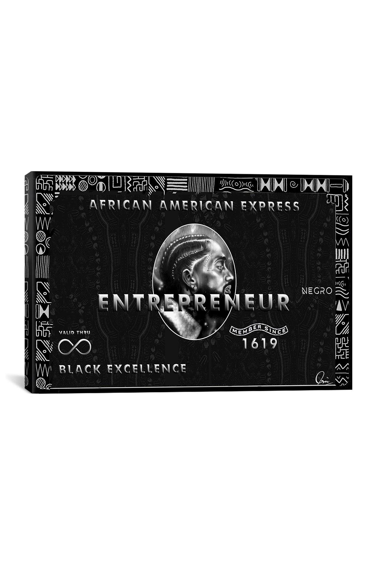 Image of iCanvas African American Express by Crixtover Edwin