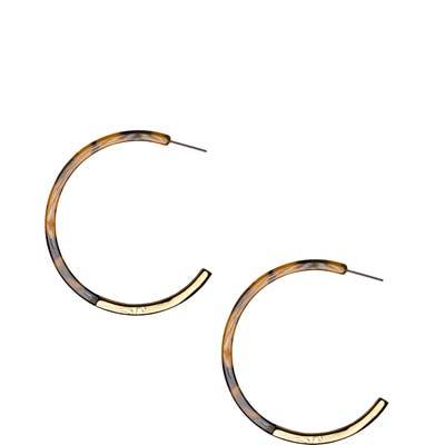 Uncommon James By Kristin Cavallari Franklin Hoop Earrings