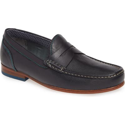Ted Baker London Xaponl Penny Loafer, Blue