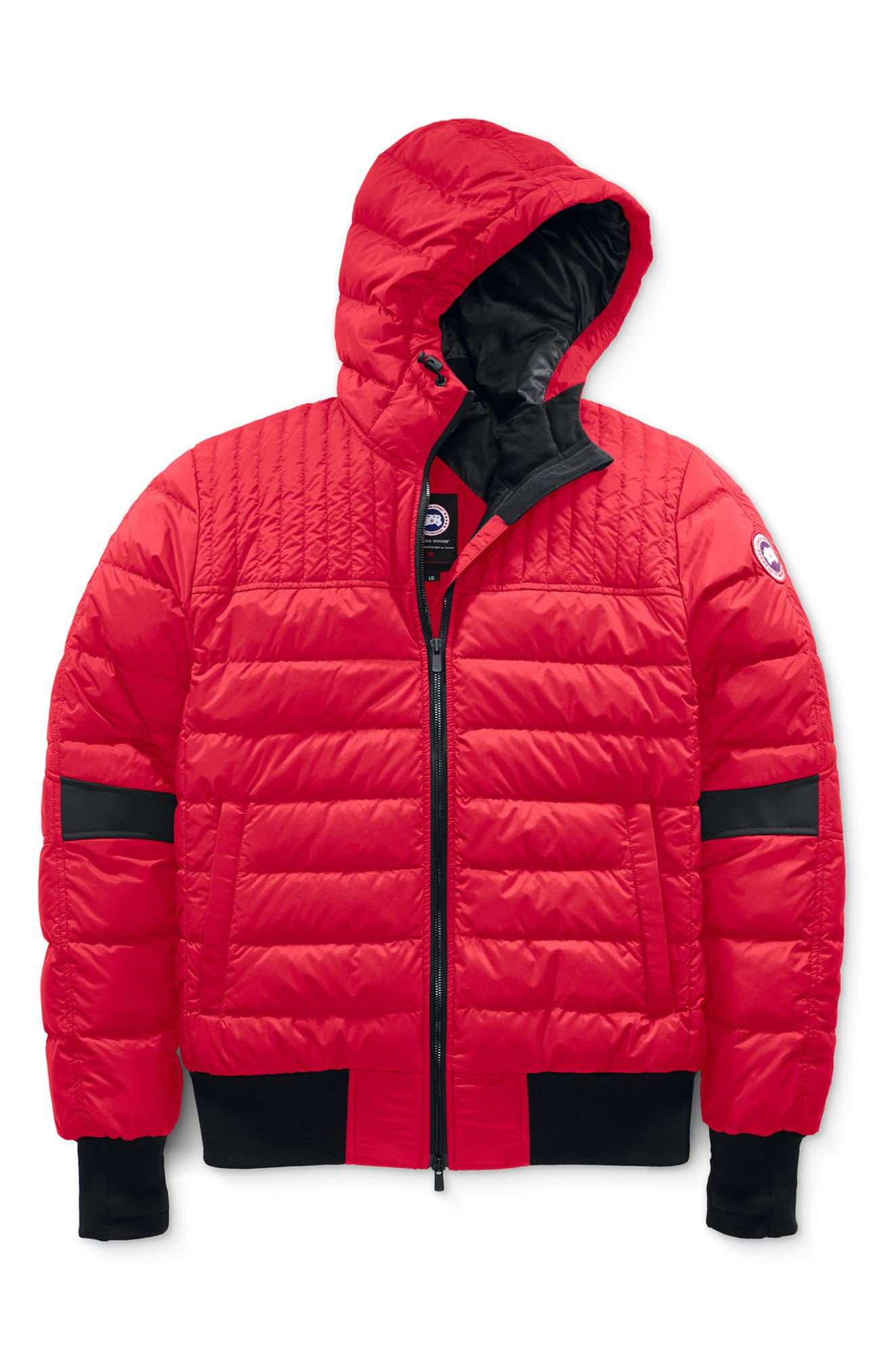 Canada Goose Cabri Hooded Packable Down Jacket, Red
