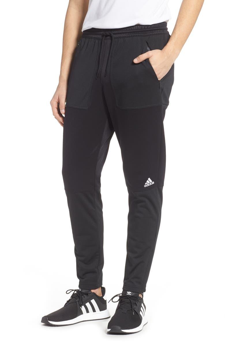 ADIDAS ID Track Pants, Main, color, 001