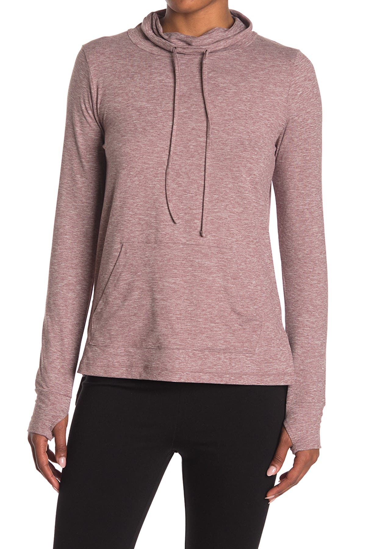 Image of X by Gottex Funnel Neck High-Low Pullover