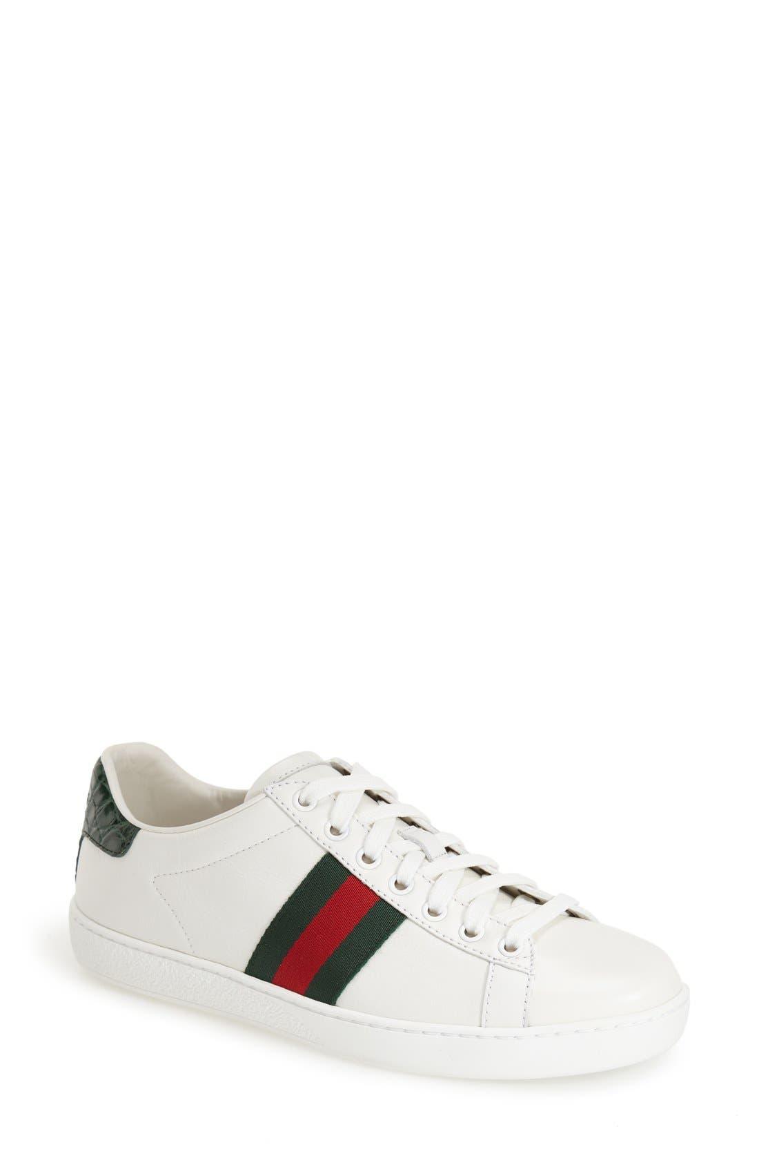 Gucci New Ace Sneaker (Women) | Nordstrom