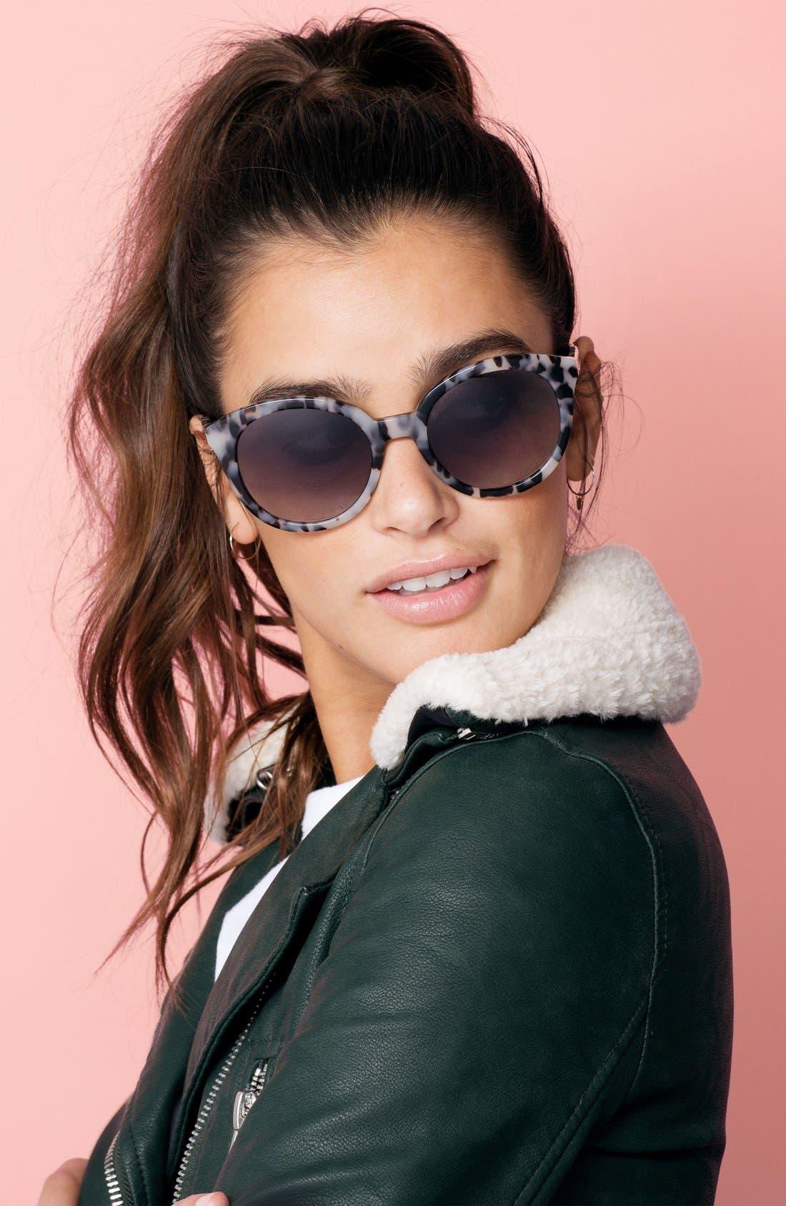 ,                             Holland 50mm Gradient Round Sunglasses,                             Alternate thumbnail 17, color,                             250