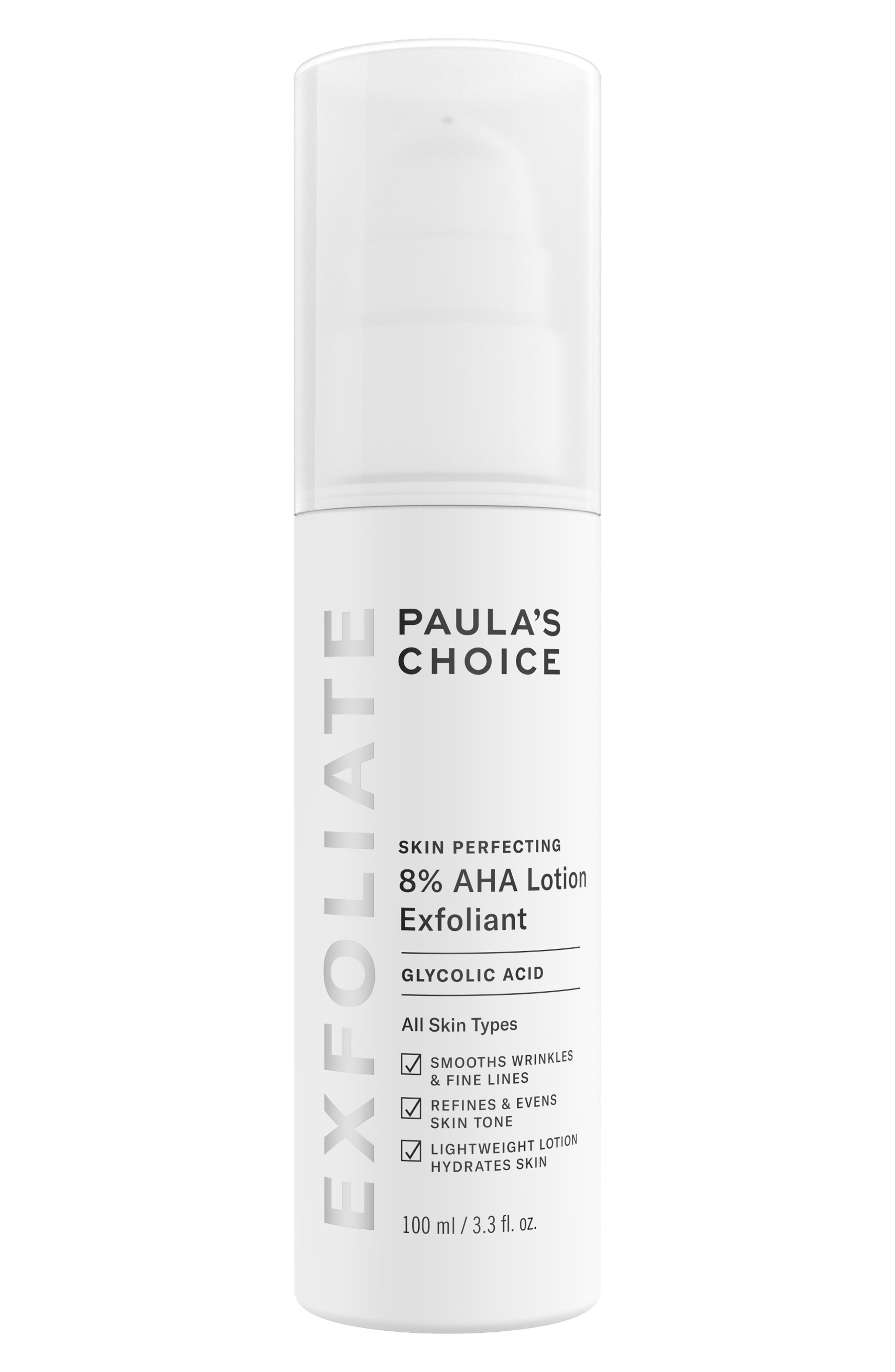 Skin Perfecting 8% AHA Lotion Exfoliant   Nordstrom
