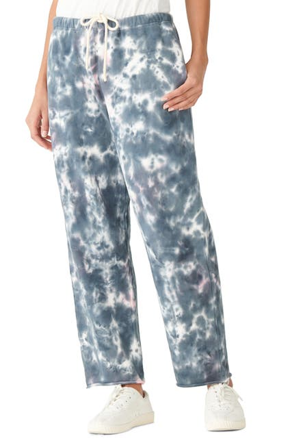 Image of Lucky Brand Wide Leg Crop Joggers