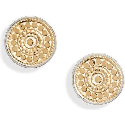 Anna Beck Granulation Circle Stud Earrings