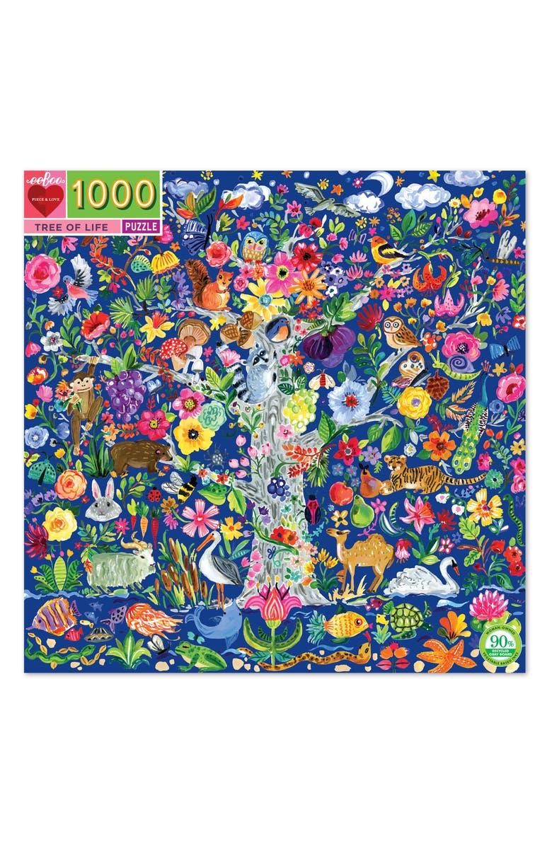 EEBOO Tree of Life 1000-Piece Puzzle, Main, color, 960