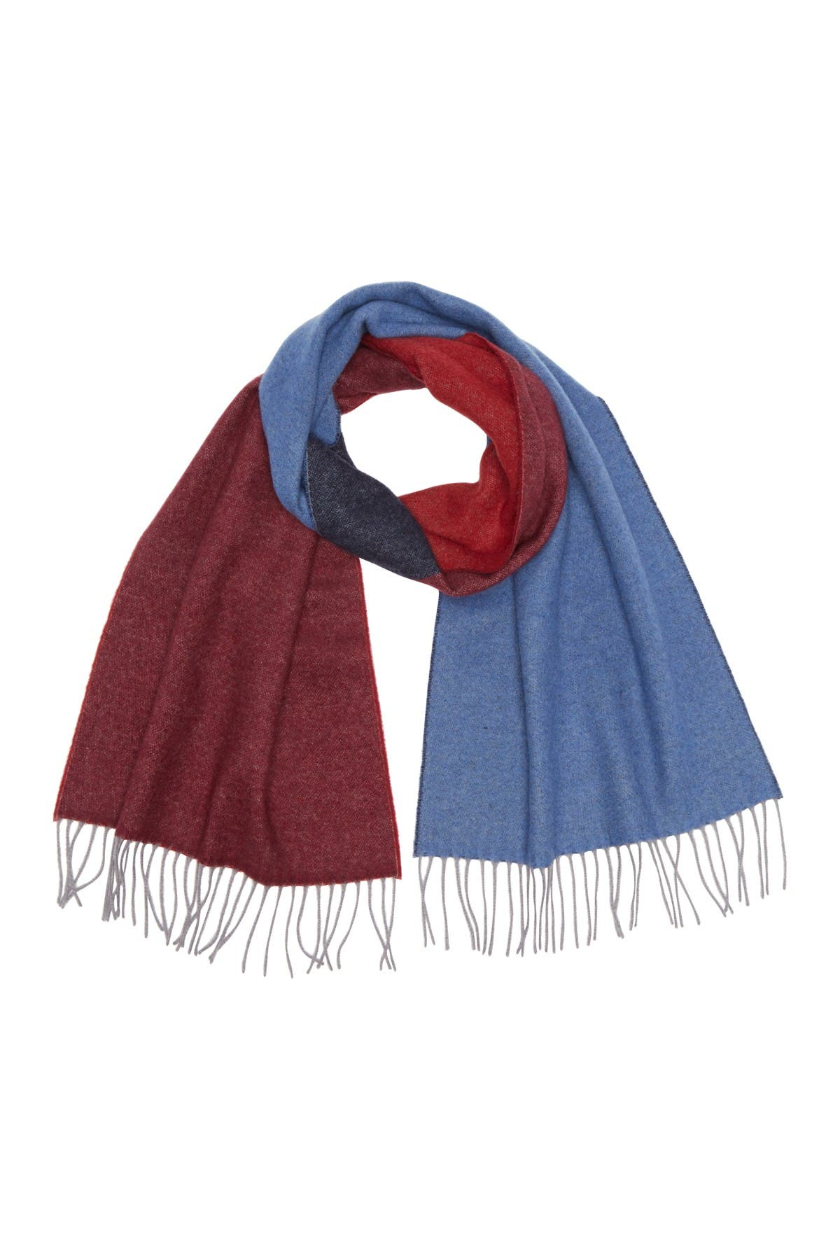 Image of Chelsey Imports Color Block Reversible Scarf