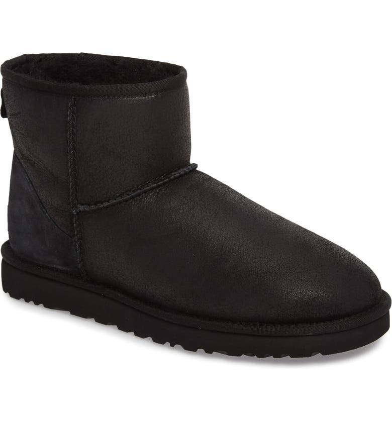 UGG<SUP>®</SUP> Classic Mini Bomber Boot with Genuine Shearling or UGGpure<sup>™</sup> Lining, Main, color, 007