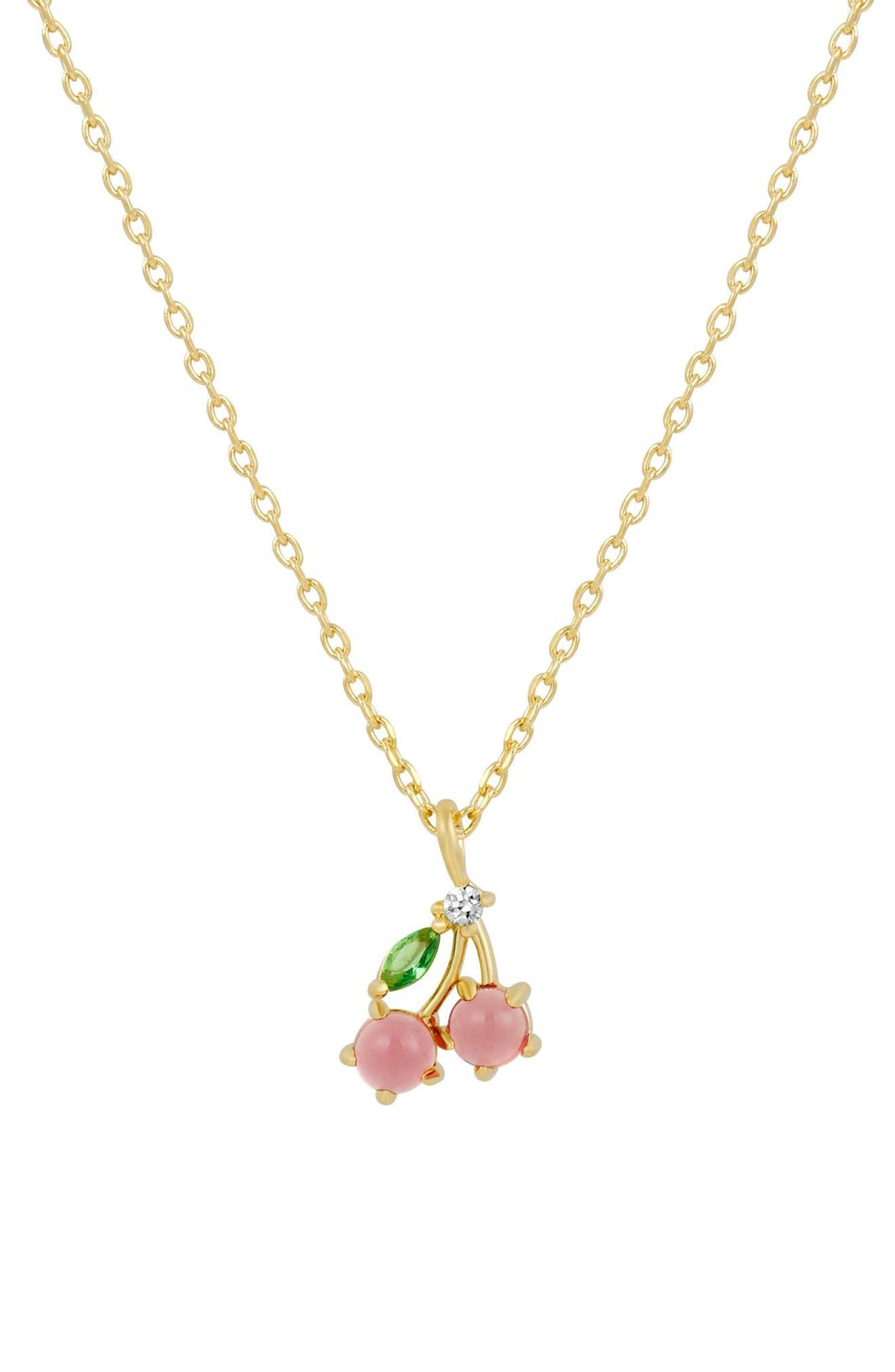 Cherry Sweet Pendant Necklace