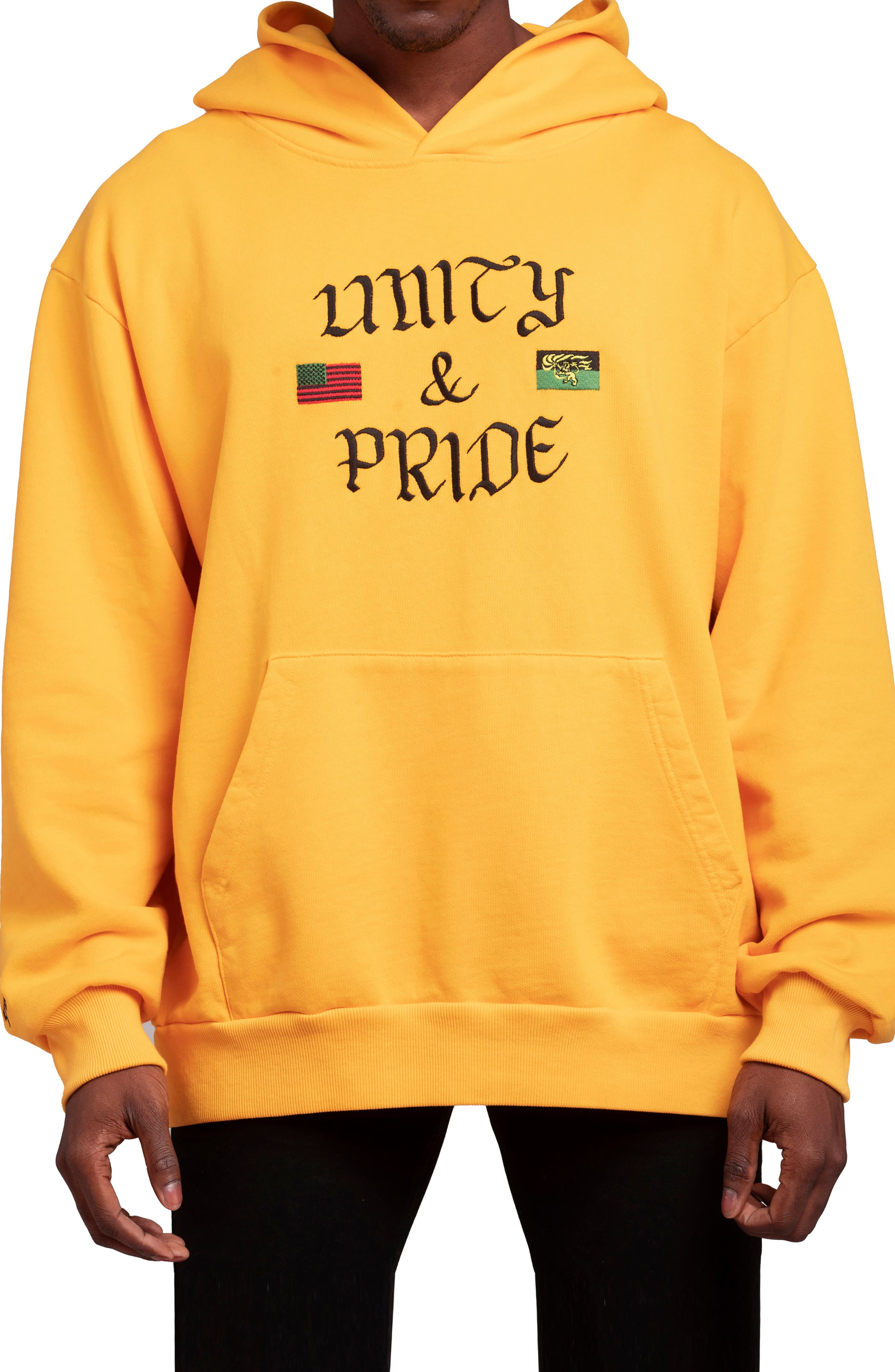 Men's Hstry By Nas X Coming 2 America Unity & Pride French Terry Hoodie