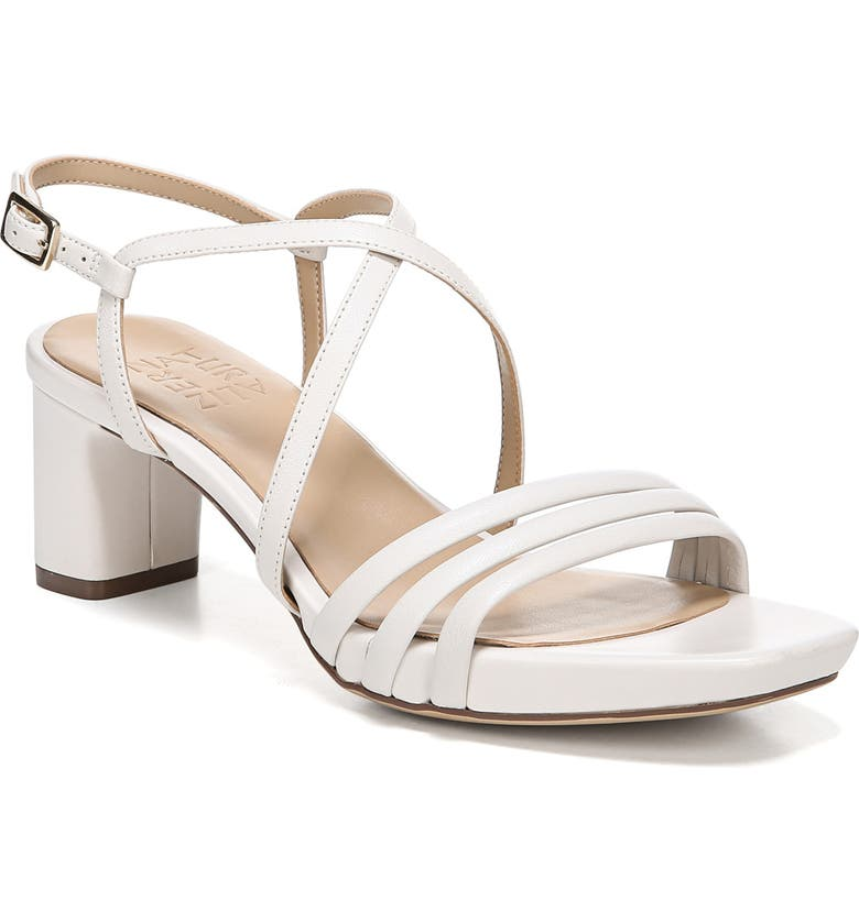 NATURALIZER Iris Sandal, Main, color, ALABASTER LEATHER