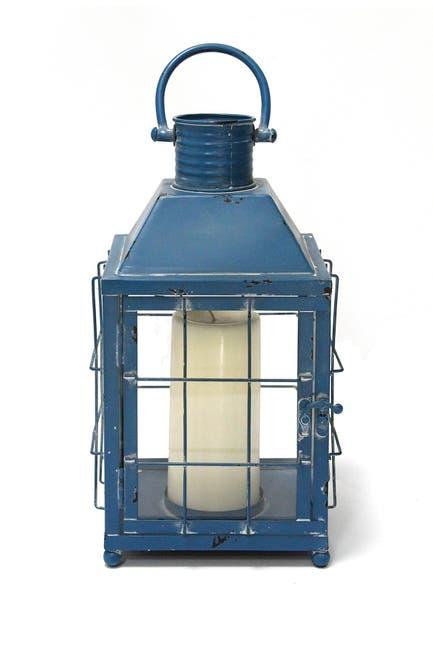 Image of Stratton Home Blue Lighthouse Lantern