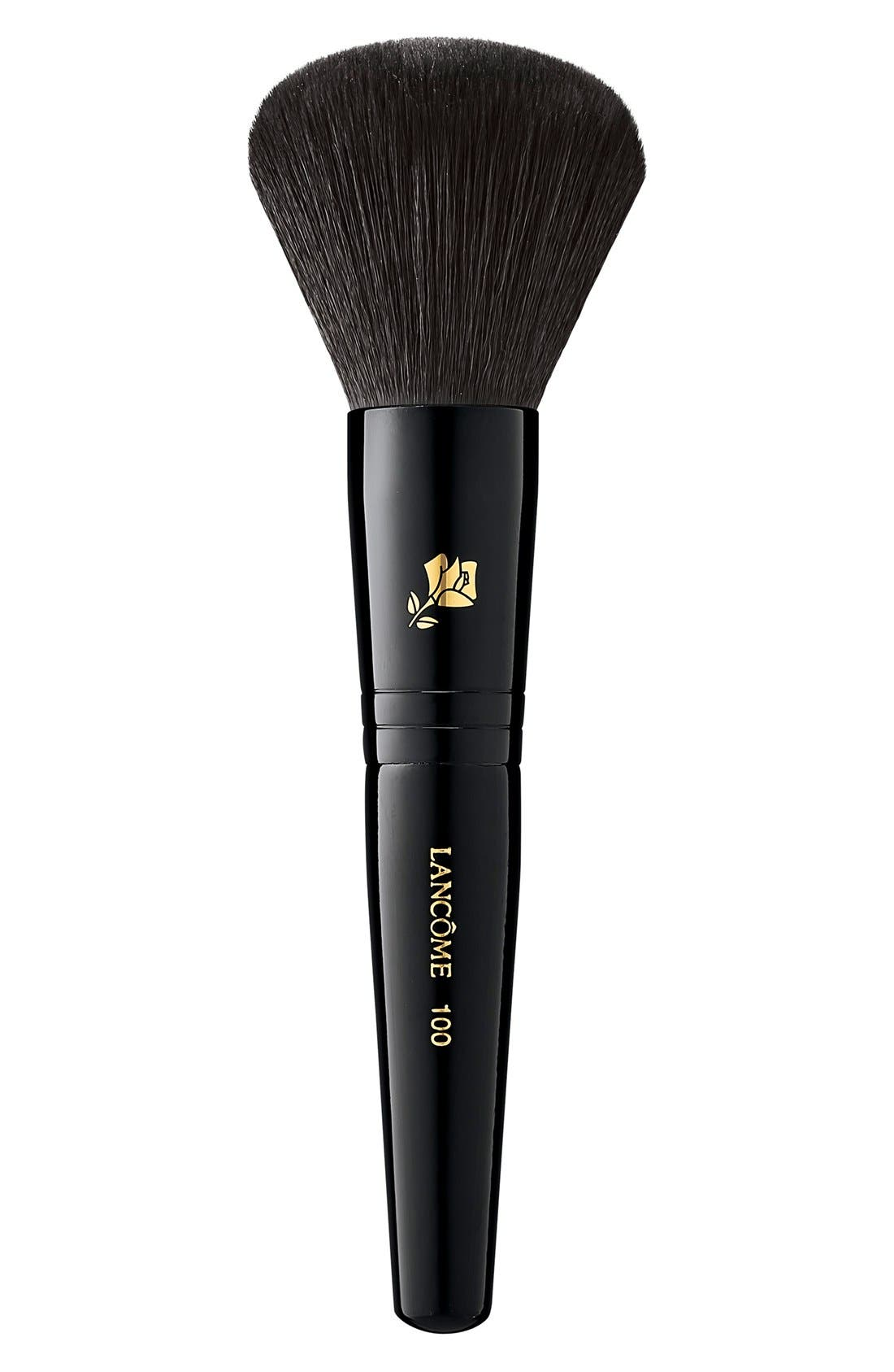 What it is: A synthetic-bristle brush with a rounded head that provides moderate-to-full coverage. What it does: Ideal for use with bronzer or powder foudnation, this brush allows product to effortlessly fuse with skin so you can control the coverage. How to use: Sweep the rounded head onto skin for a quick, clean, fool-proof application and natural-looking coverage. Style Name: Lancome Bronzer Mineral Brush. Style Number: 262585. Available in