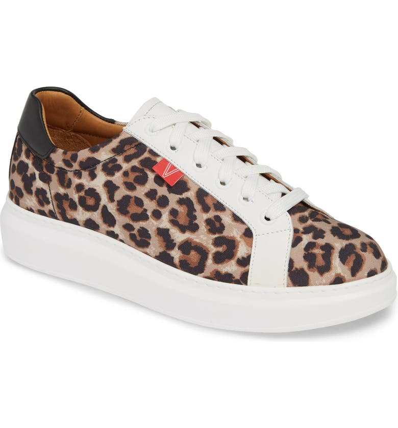 VERONICA BEARD Daelyn Leopard Print Sneaker, Main, color, 260