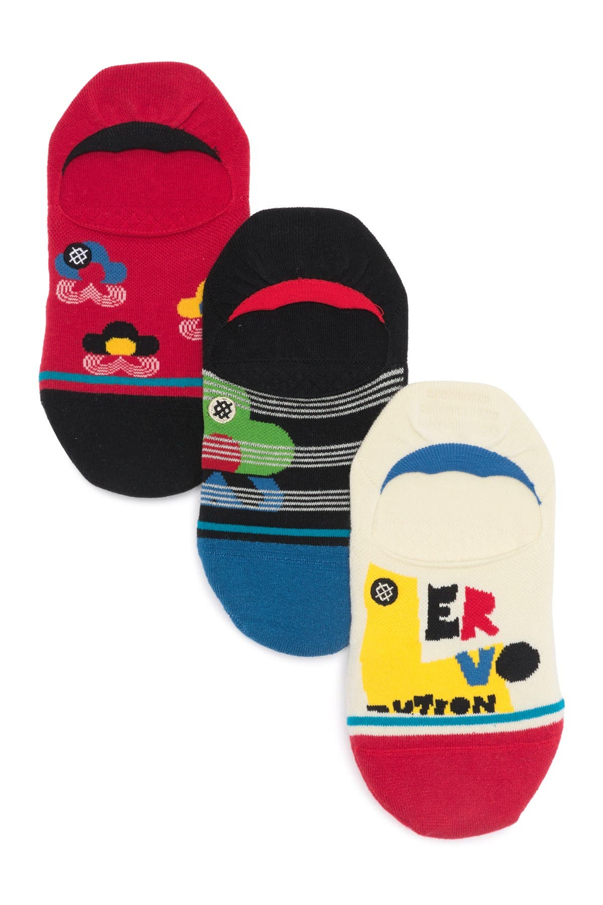Image of Stance Loverution no Show Socks - Pack of 3