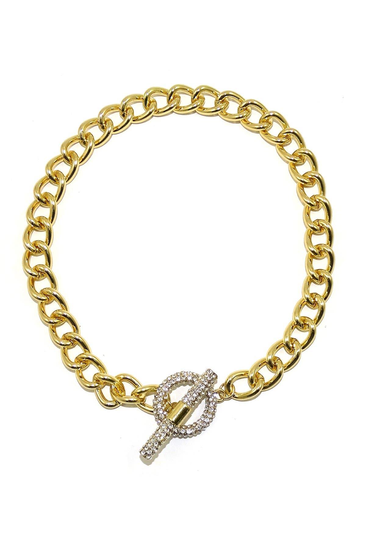 Image of Savvy Cie CZ Cuban Link Necklace