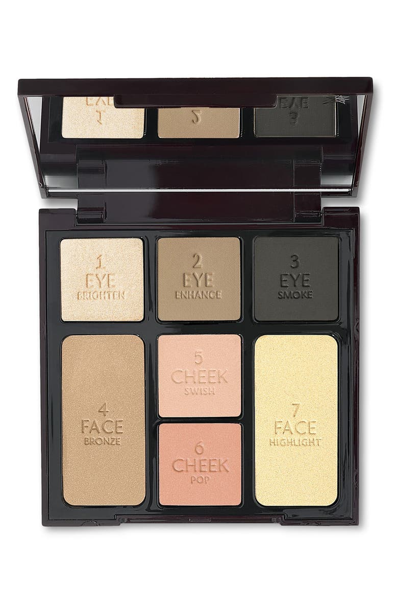 CHARLOTTE TILBURY Instant Look in a Palette Smoky Eye Beauty, Main, color, NO COLOR