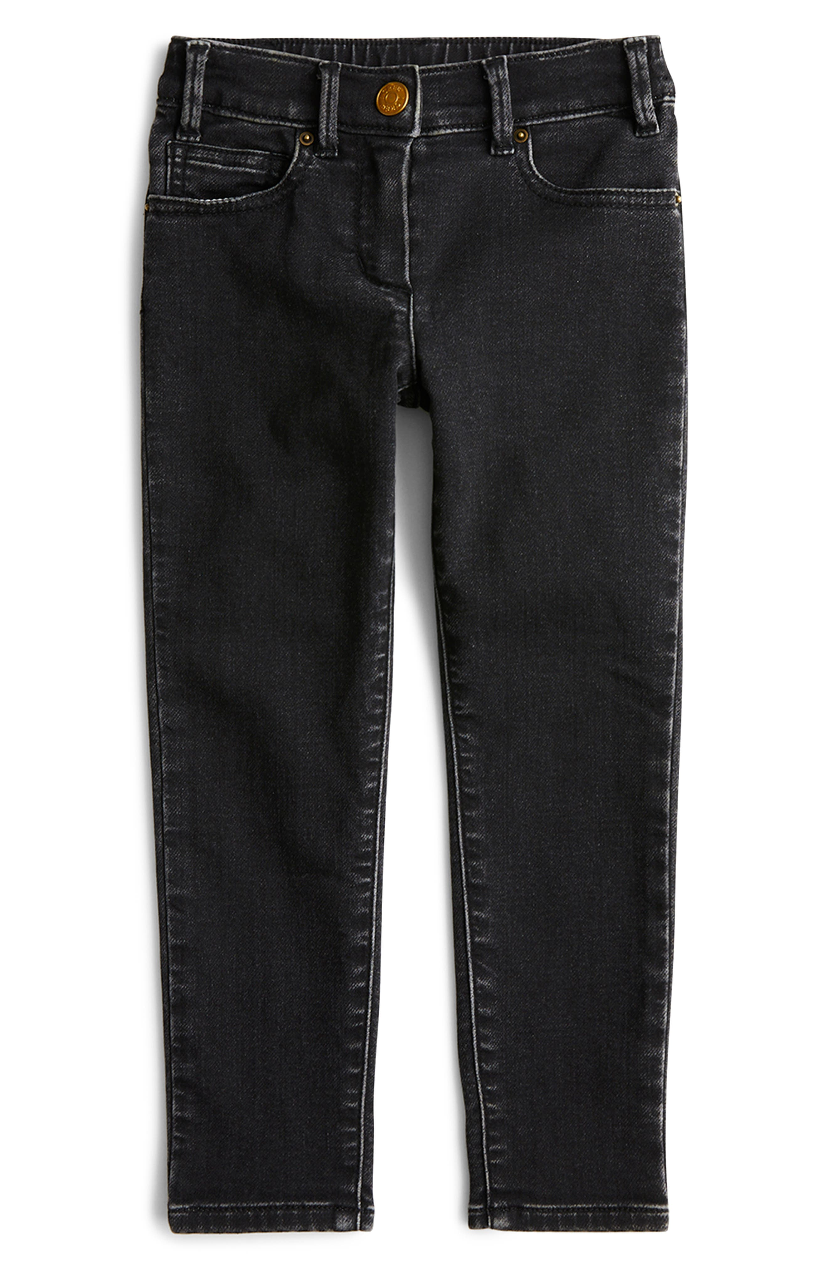 Toddler Girls Crewcuts By Jcrew Runaround Straight Leg Jeans Size 2T  Black