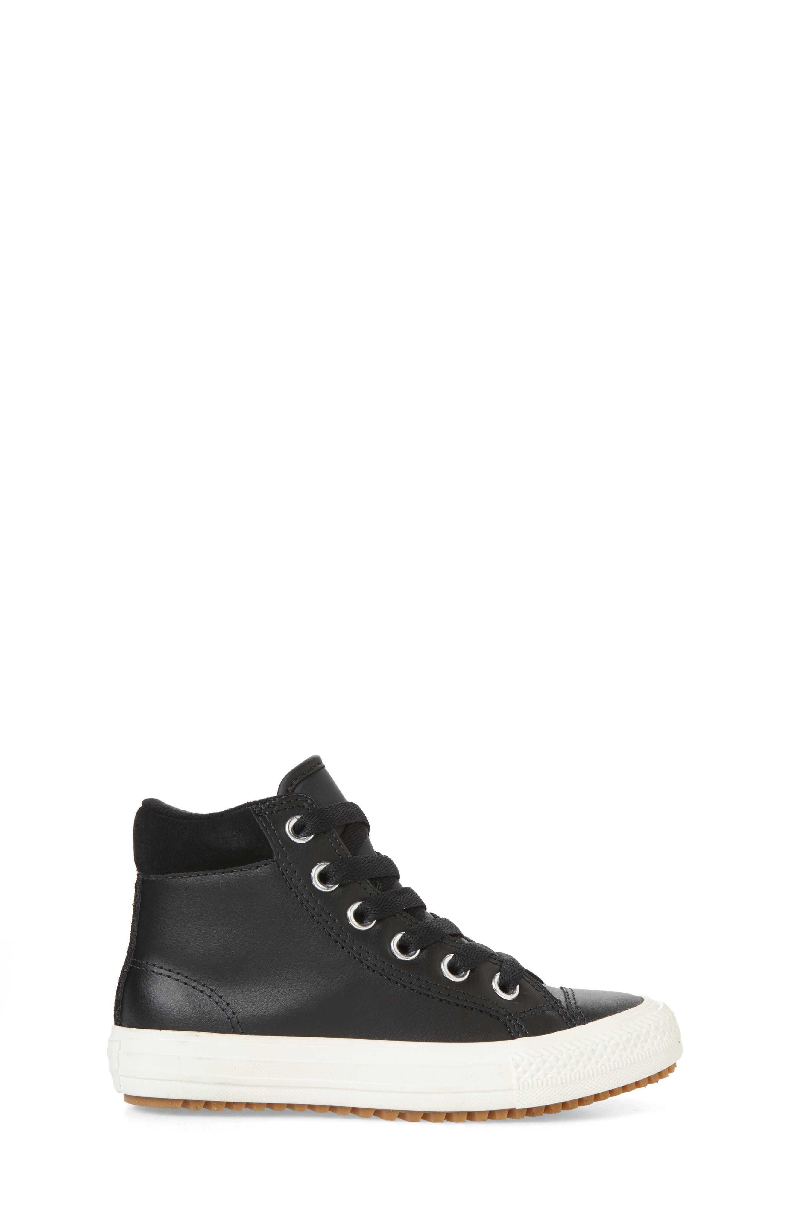 ,                             Chuck Taylor<sup>®</sup> All Star<sup>®</sup> PC High Top Sneaker,                             Alternate thumbnail 3, color,                             BLACK