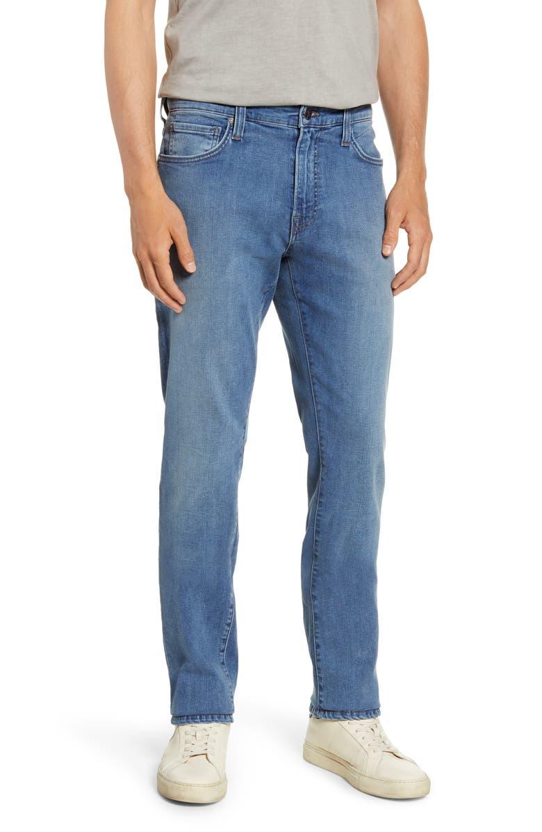 AGAVE Rocker Drakes Slim Straight Leg Jeans, Main, color, BIG DRAKES FLEX 8-YR