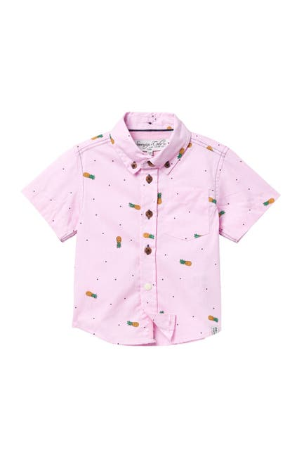 Image of Sovereign Code Crystal Cove Button Down Shirt